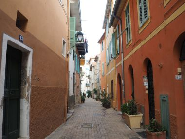 The corridors of the village