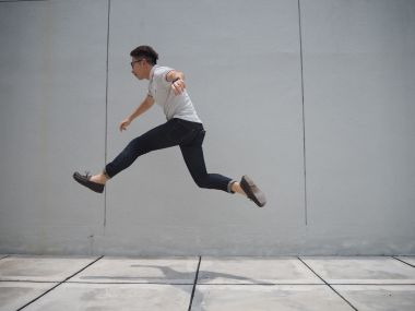 and leap!